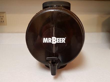 mr beer leak test