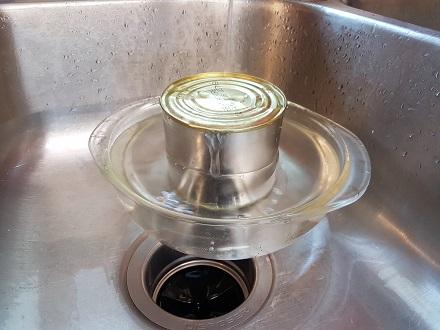 work in sink