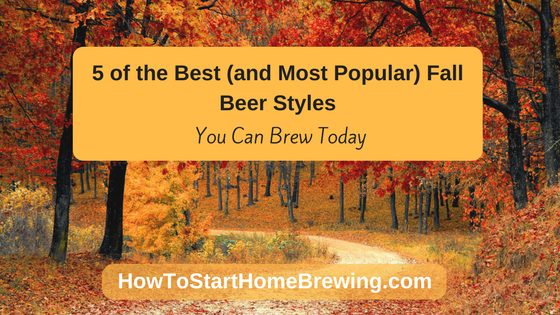 fall beer styles