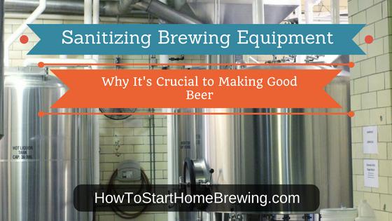 sanitizing brewing equipment