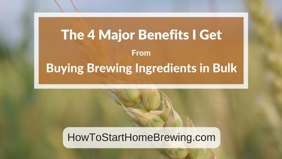 brewing ingredients in bulk